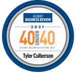 ACBJ Albany Business Review 40 Under 40 logo